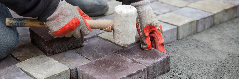 Укладка тротуарной плитки в Талдоме